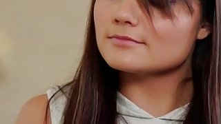 Hot Brunette Adria prank Gia Paige with a Panty Raid in her room