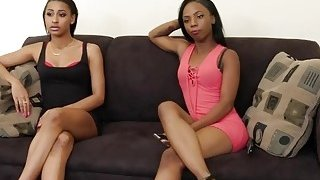 A nasty lesbian helps her friend to forget about her ex boyfriend and fucks her with a dildo