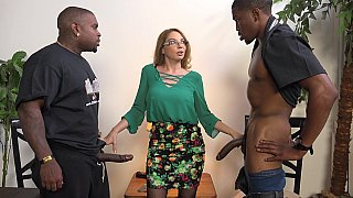 Interracial foot fetish MMF